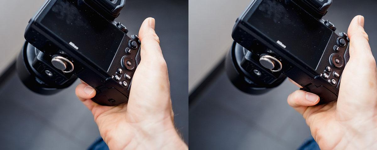 Fingerproblem Nikon Z6