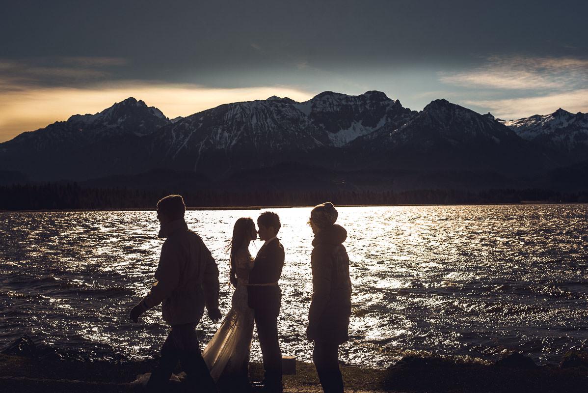 Hochzeitsfotos Hopfensee bei Füssen