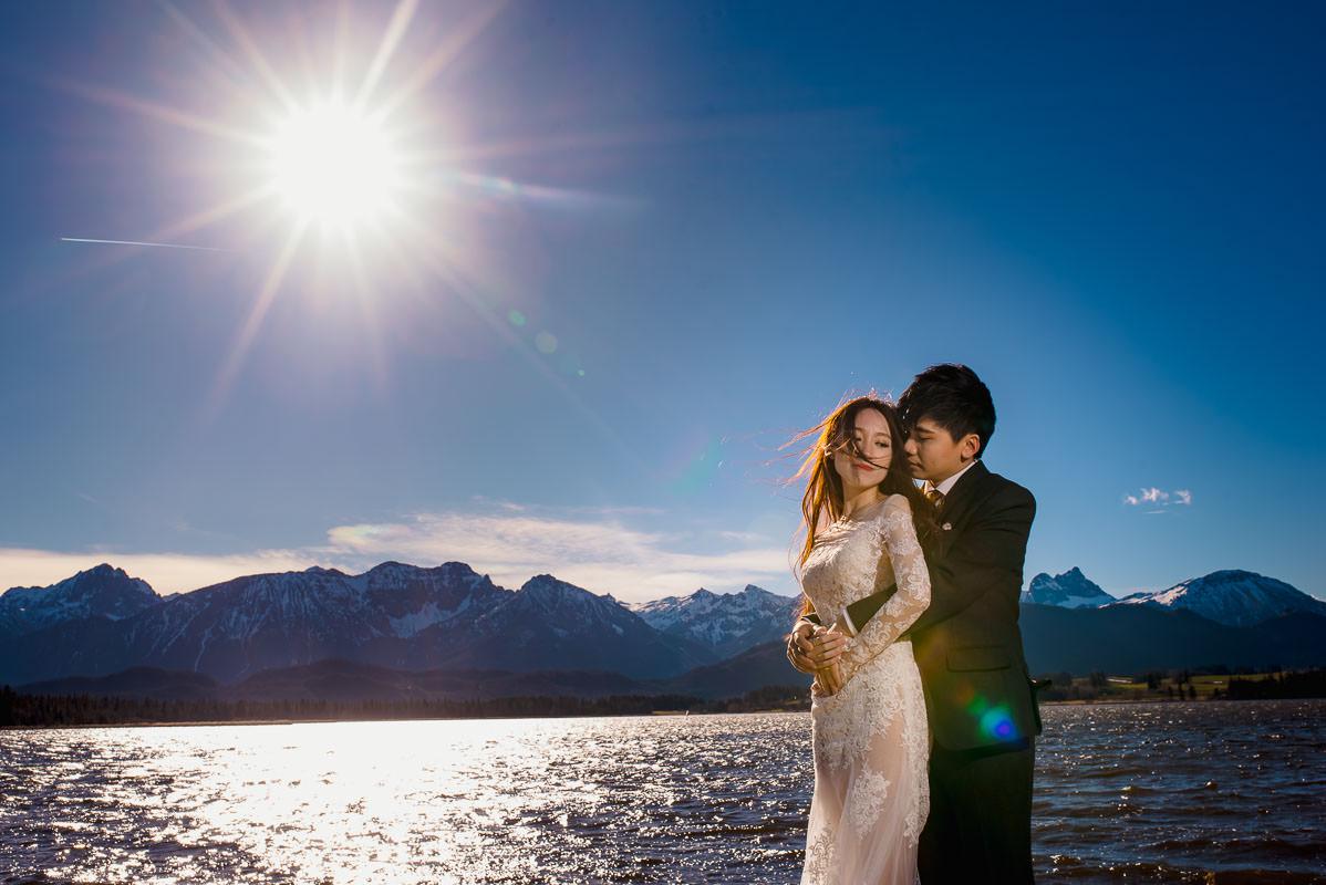 Hochzeitsfotograf Hopfensee bei Füssen
