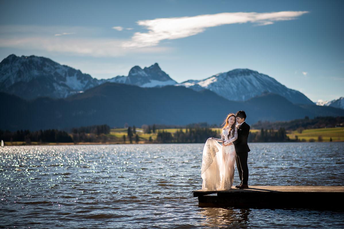 Hochzeit Hopfensee Allgäu