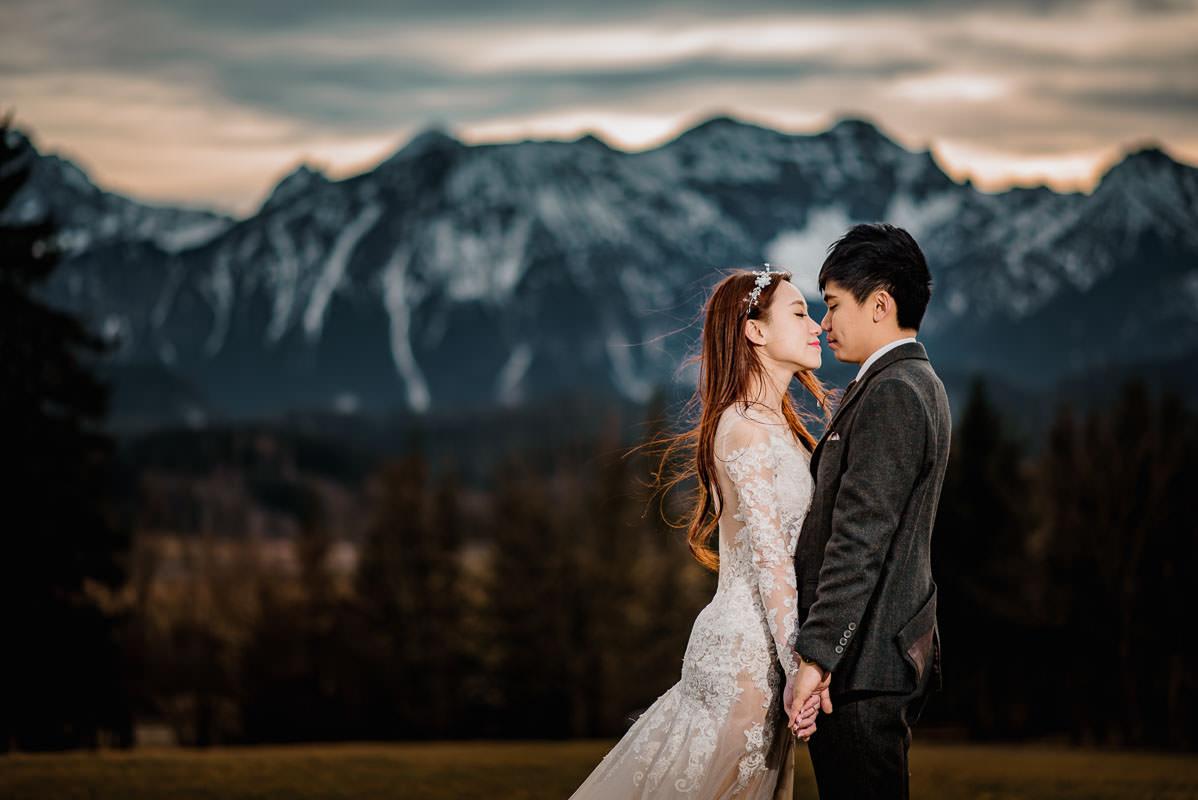 Hochzeitsbilder in Füssen im Allgäu