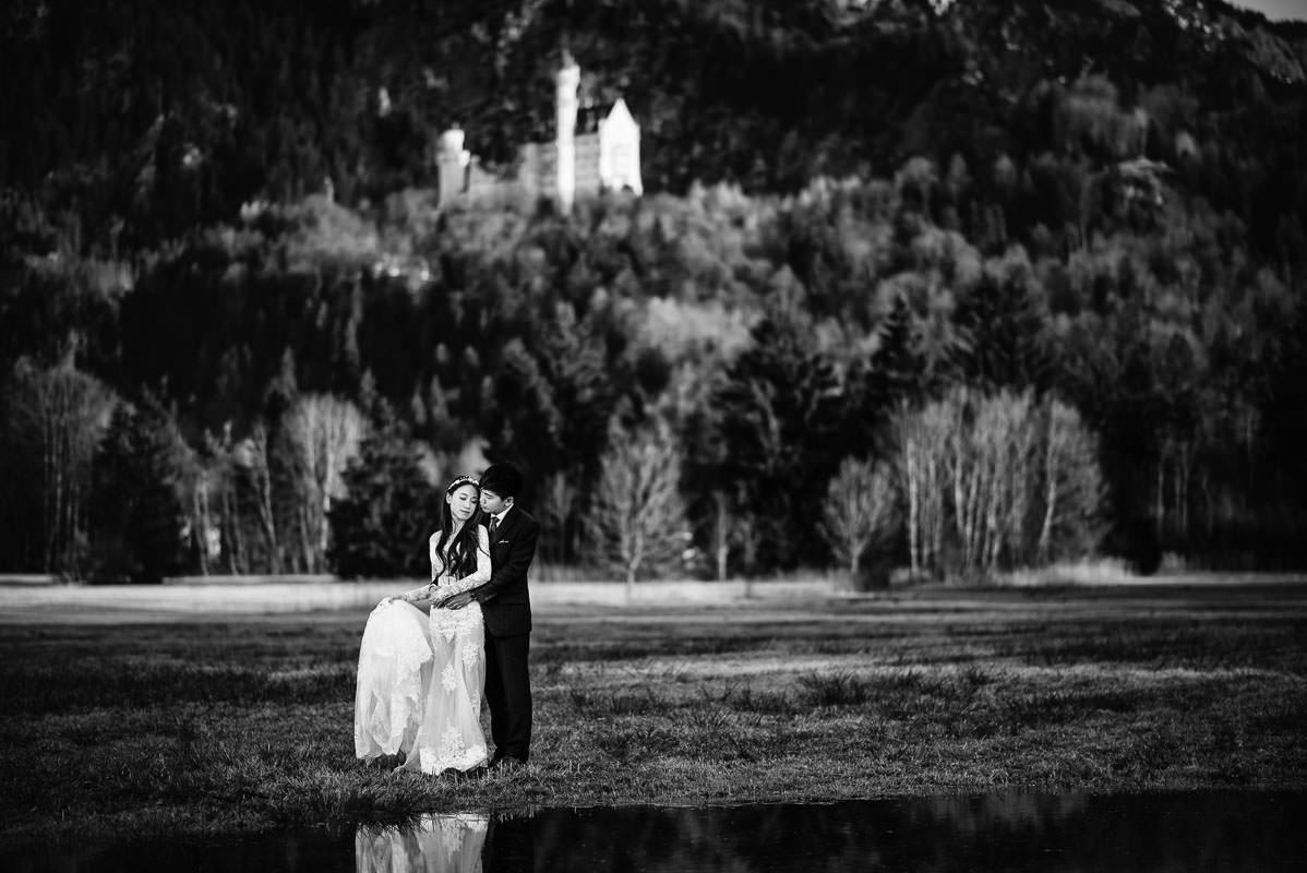 Hochzeitsfotografie Neuschwanstein