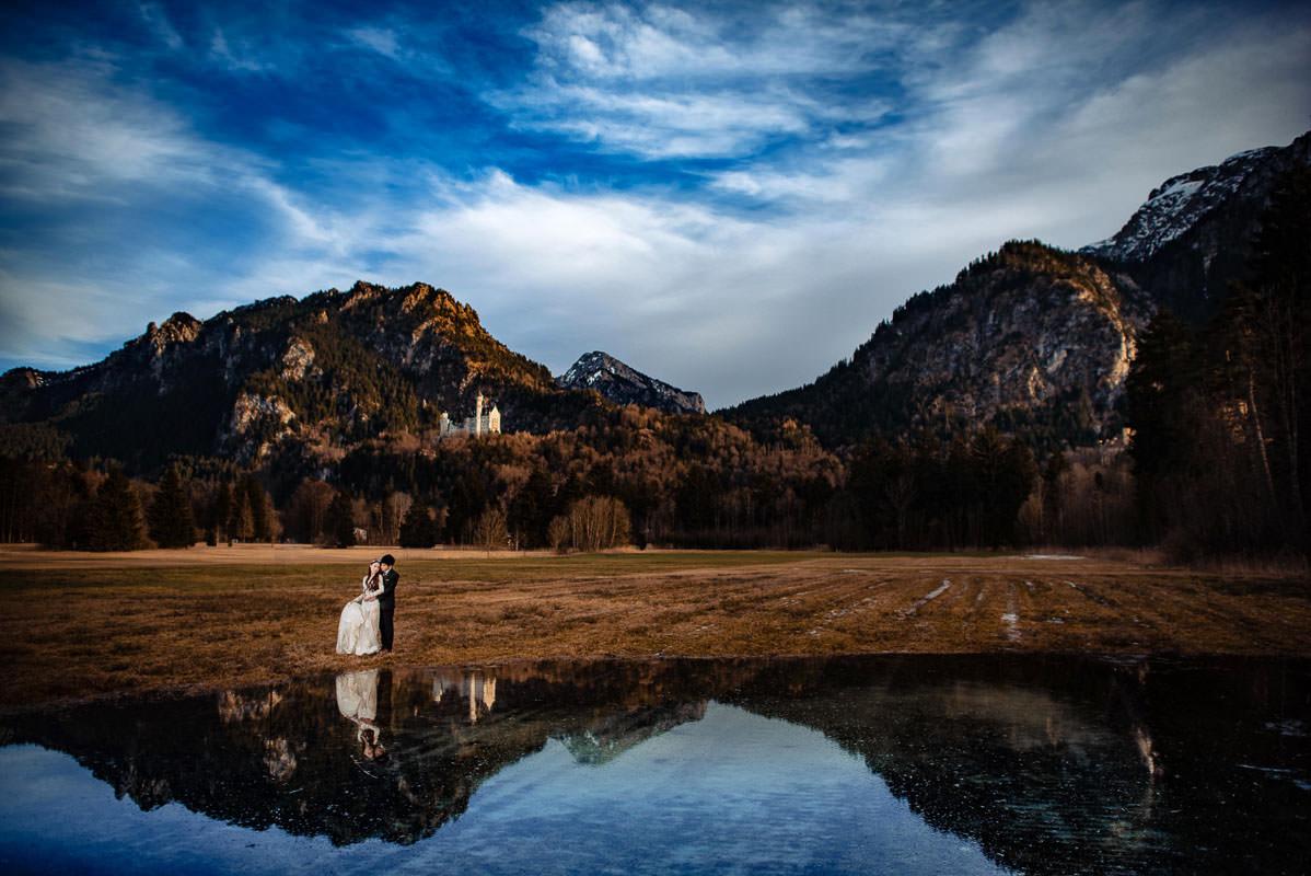 Hochzeitsfotografie Füssen Allgäu Neuschwanstein