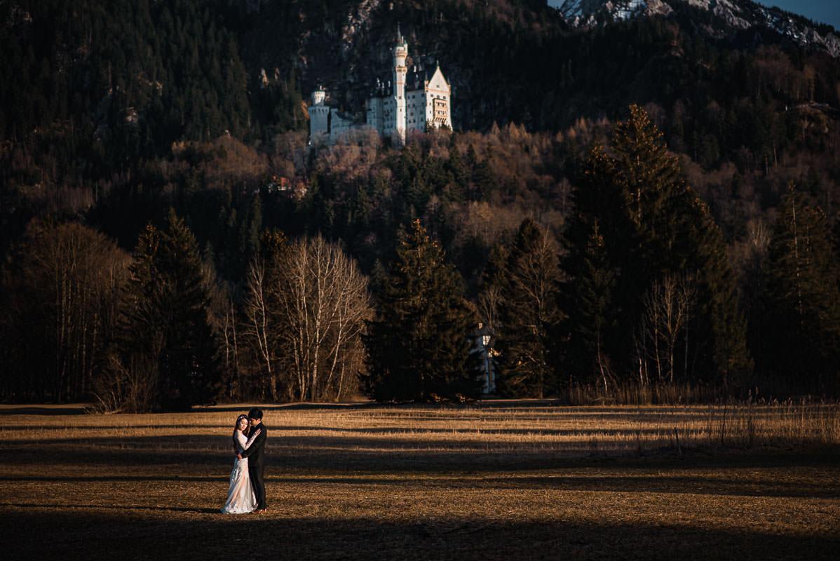 Hochzeitsfotos Neuschwanstein