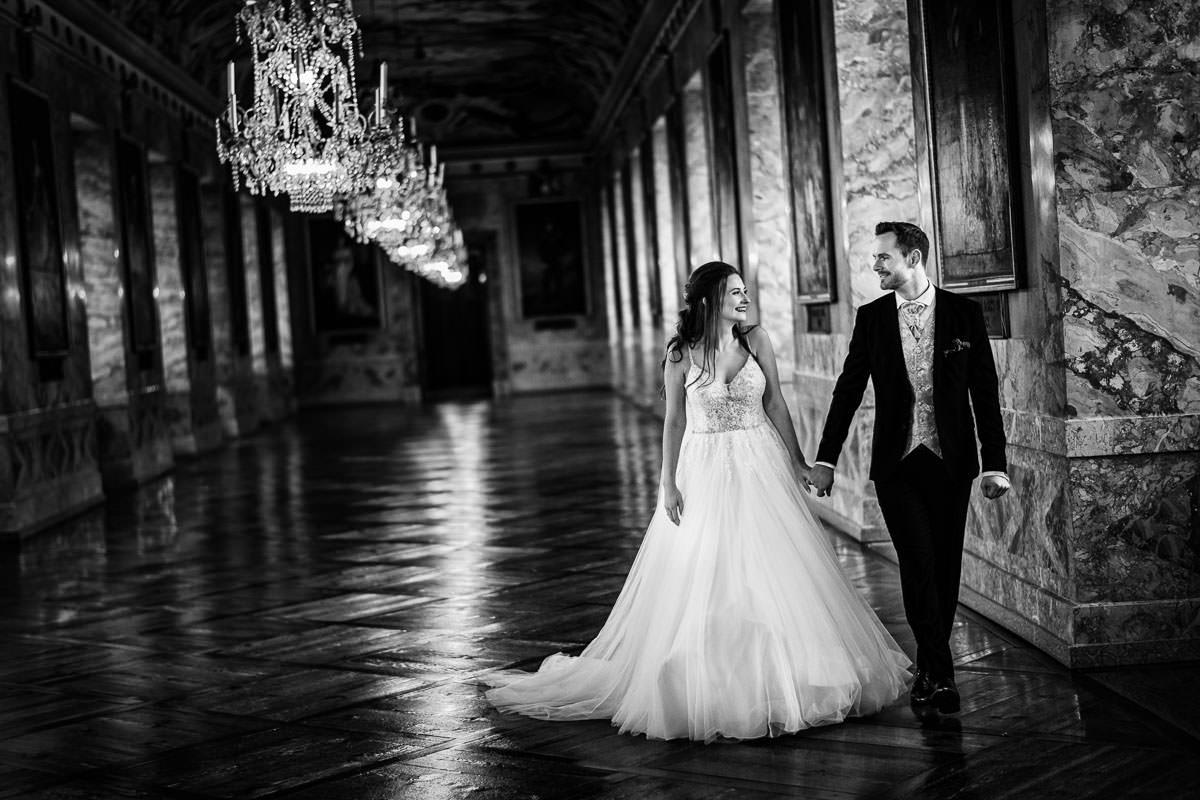 Hochzeitsotografien Schloss Ludwigsburg