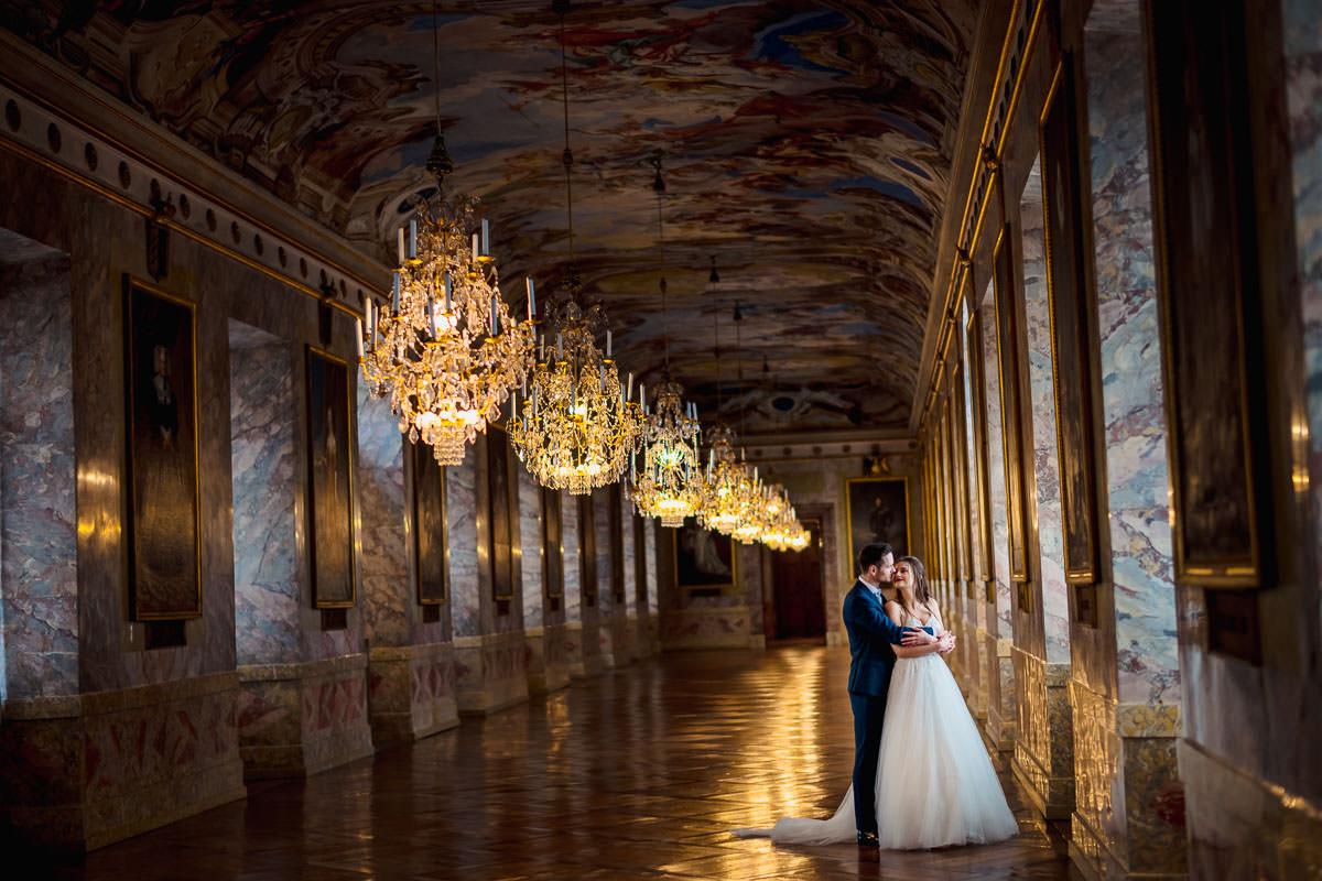 Hochzeitsportraits Schloss Ludwigsburg
