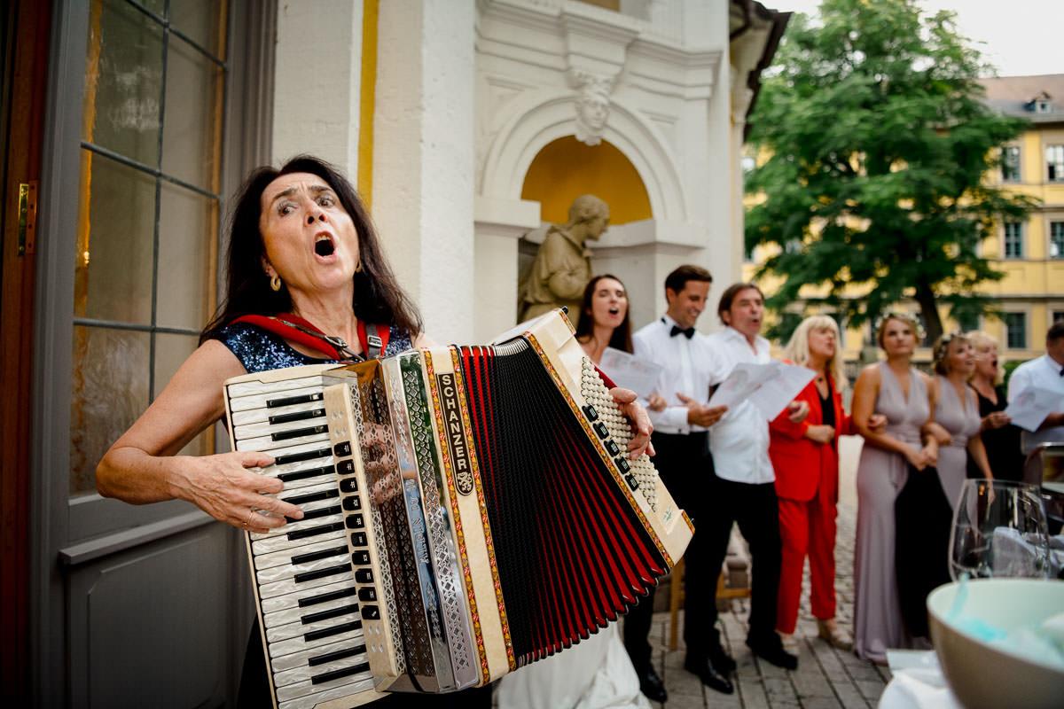 Hochzeitsfeier Gartenpavillion Juliusspital Würzburg