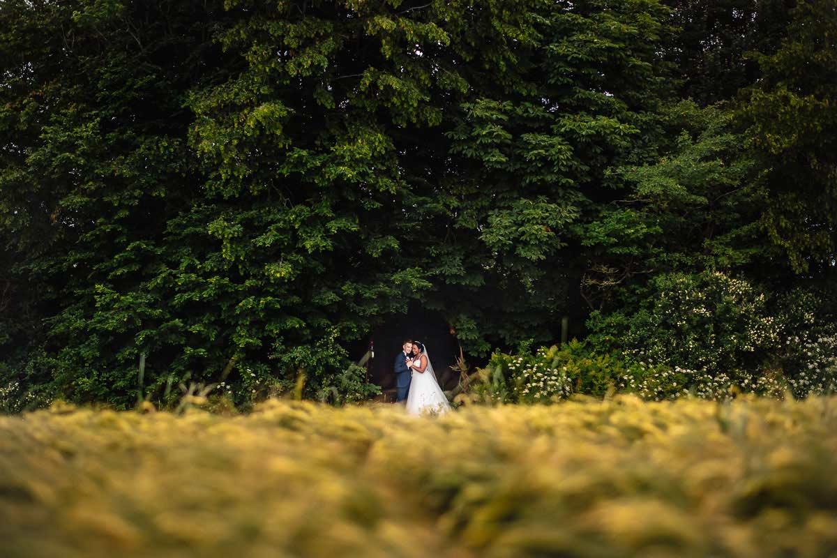 Hochzeitsfoto trotz Regen