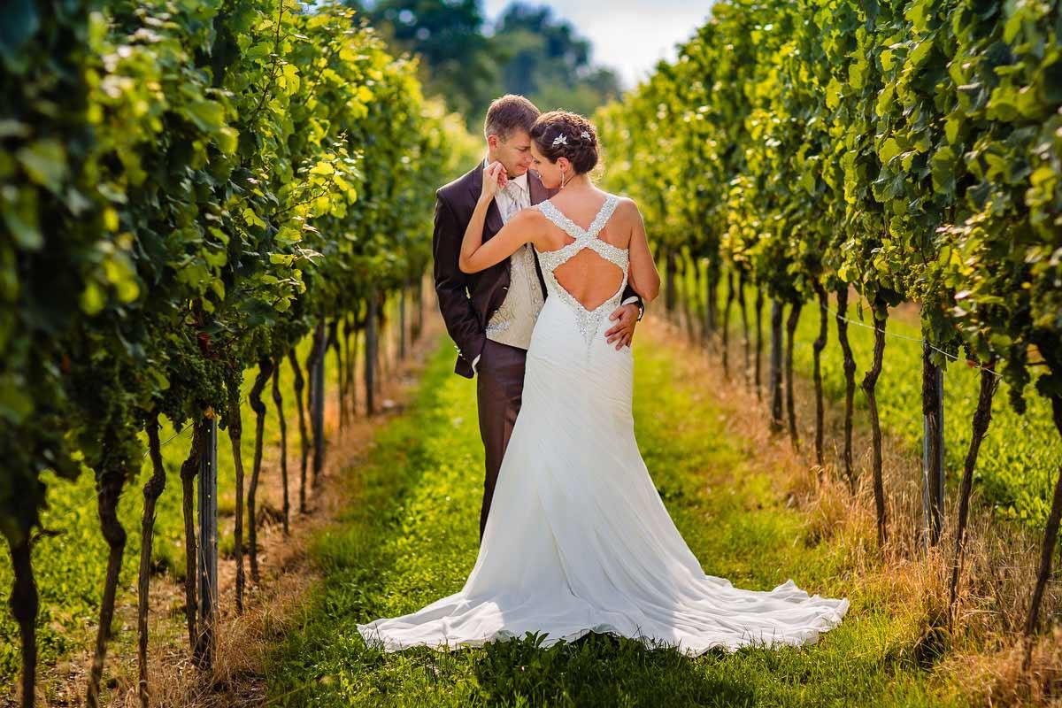 heiraten auf einem Weingut