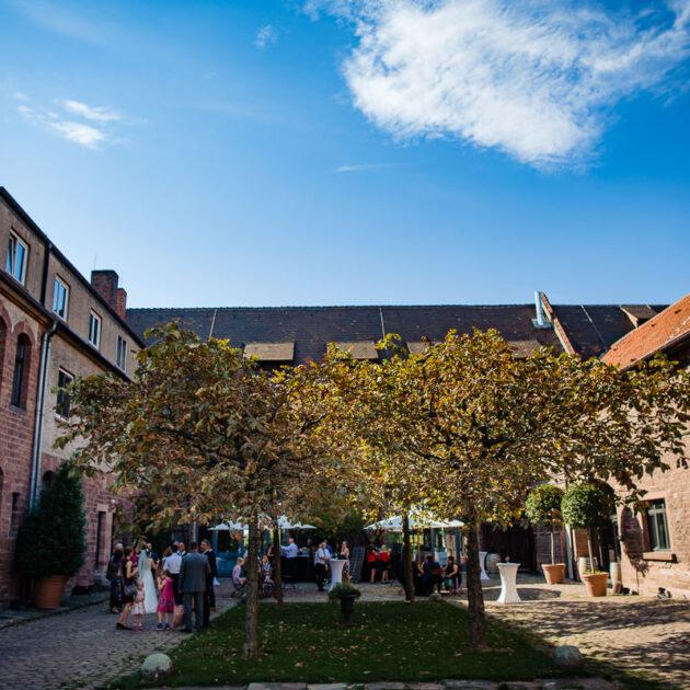Hochzeitslocation Gutshof Ladenburg