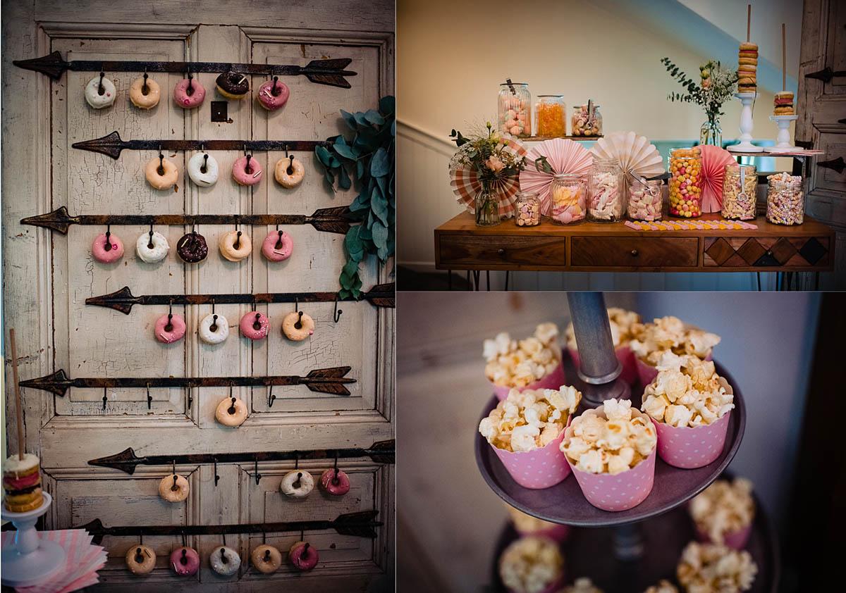 Hoher Darsberg Hochzeit Candybar