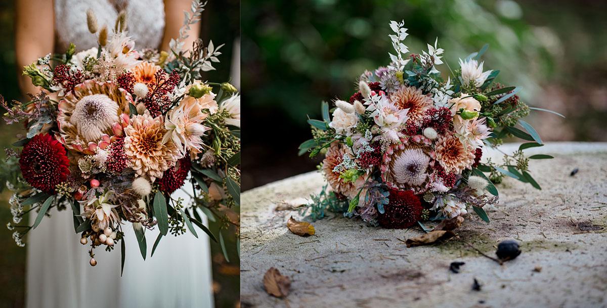 Blumenstrauß Hochzeit Villa Hammerschmiede