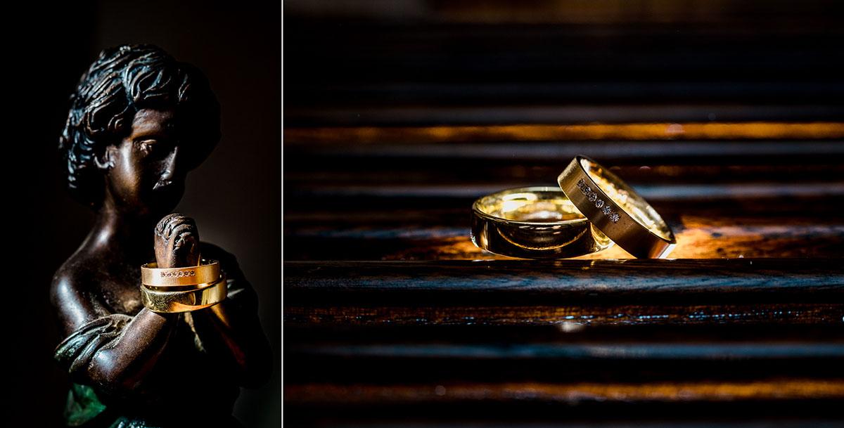 Ringbilder Villa Hammerschmiede Hochzeit