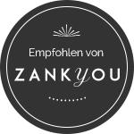 Zank You badge Hochzeitsfotografie